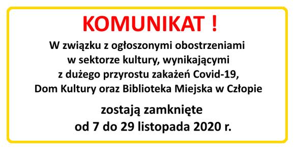 Zamkniecie DK - covid